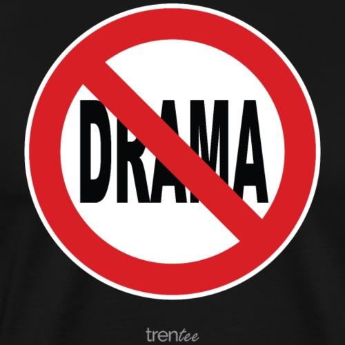 No Drama White Background