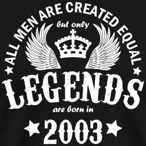 Legends are Born in 2003 - Men's Premium T-Shirt