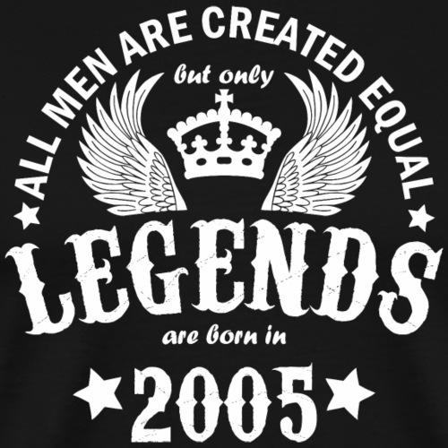 Legends are Born in 2005 - Men's Premium T-Shirt