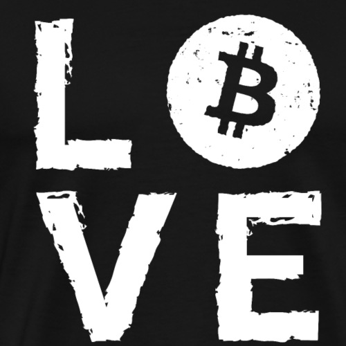 Love Bitcoin! Good gift idea! - Men's Premium T-Shirt