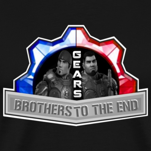 BROS TO THE END GEARS - Men's Premium T-Shirt