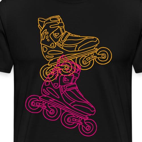 Inline Roller Skates - Men's Premium T-Shirt