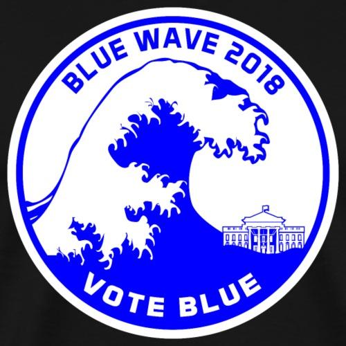 Blue Wave 2018 - Men's Premium T-Shirt