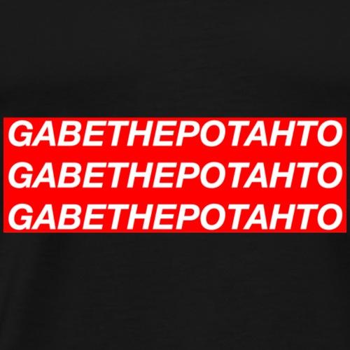 Gabe The Potahto Logo - Men's Premium T-Shirt