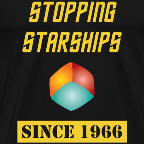 Stopping Starships Corbomite Maneuver Ep - Men's Premium T-Shirt
