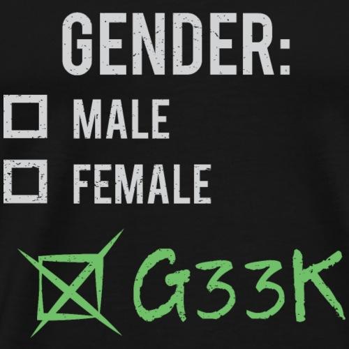 Gender: Geek! - Men's Premium T-Shirt