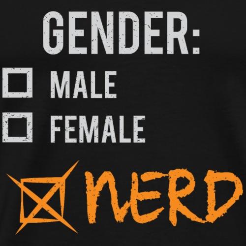 Gender: Nerd! - Men's Premium T-Shirt