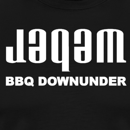Jagam downunder white - Men's Premium T-Shirt