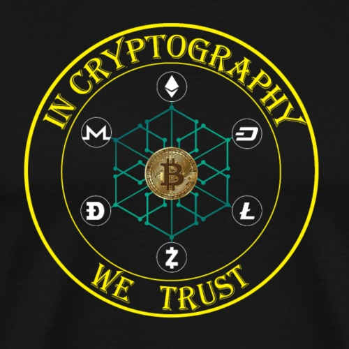 In cryptography we trust - Men's Premium T-Shirt