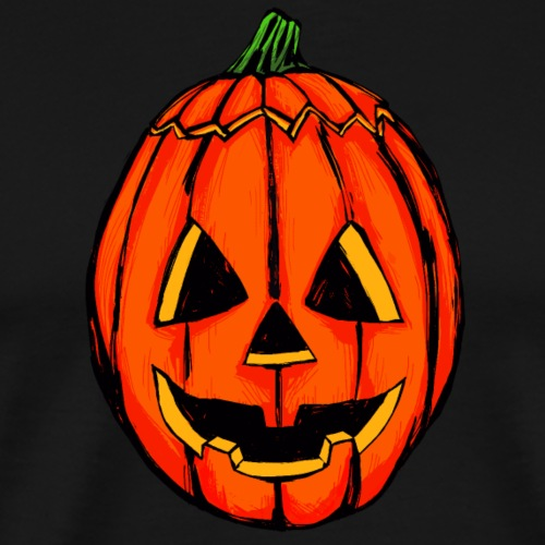 Beastly Pumpkin - Men's Premium T-Shirt