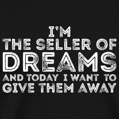 Dream Seller - White - Men's Premium T-Shirt