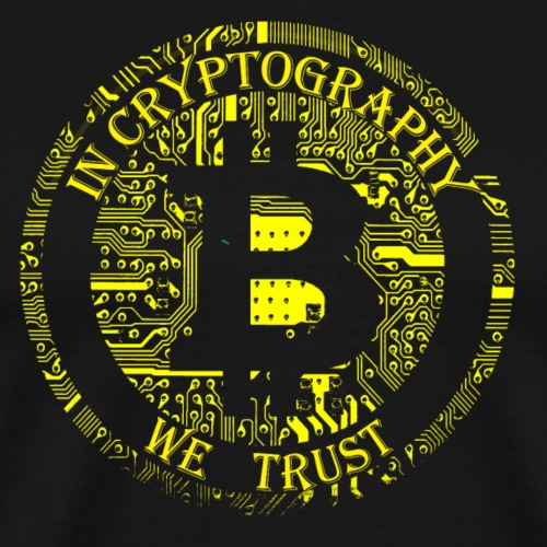 In cryptography we trust 2 - Men's Premium T-Shirt