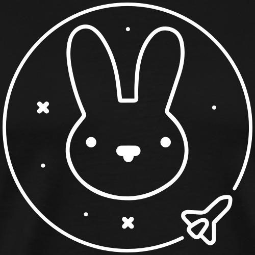 Space Bunny - To Venus And Beyond - Men's Premium T-Shirt