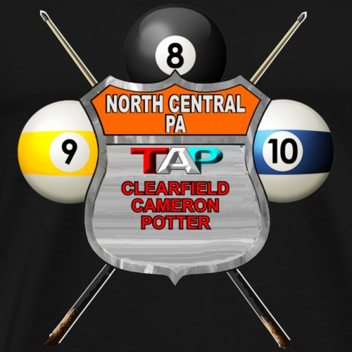 North Central PA Shield Logo - Men's Premium T-Shirt