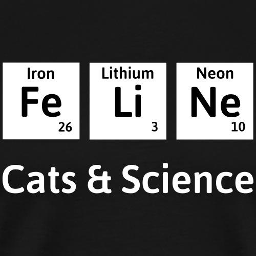 Cats & Science - Men's Premium T-Shirt