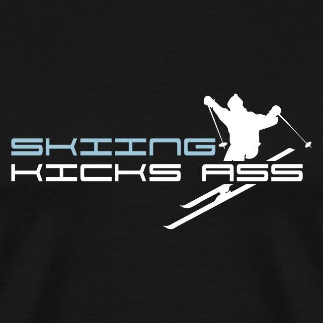 Skiing Kicks Ass