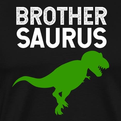 Brother Saurus T-Rex - Men's Premium T-Shirt