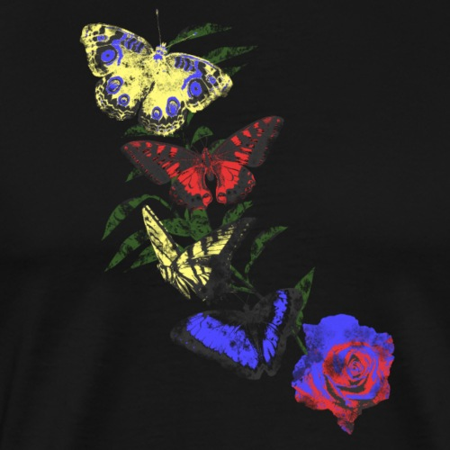 Butterflies and Roses Apparel Design