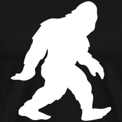 Bigfoot Sasquatch Yeti Silhouette - Men's Premium T-Shirt