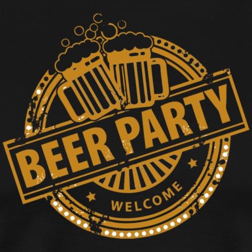 beer party - Men's Premium T-Shirt
