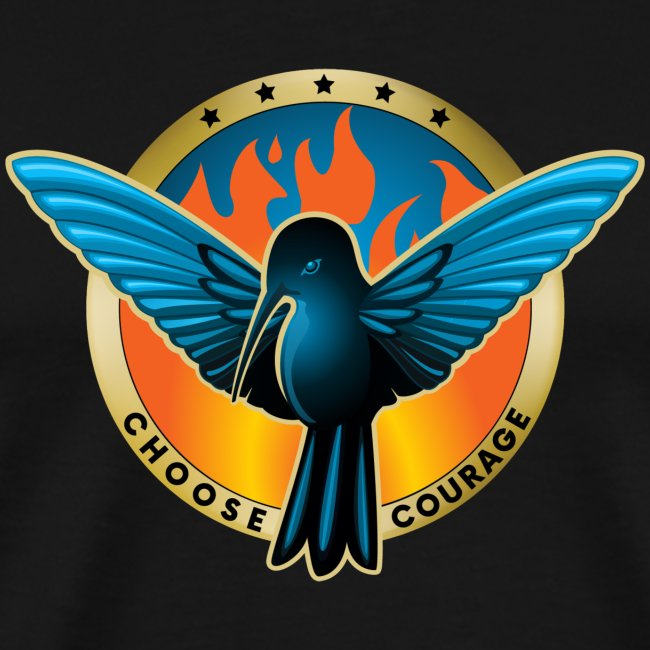 Choose Courage - Fireblue Rebels