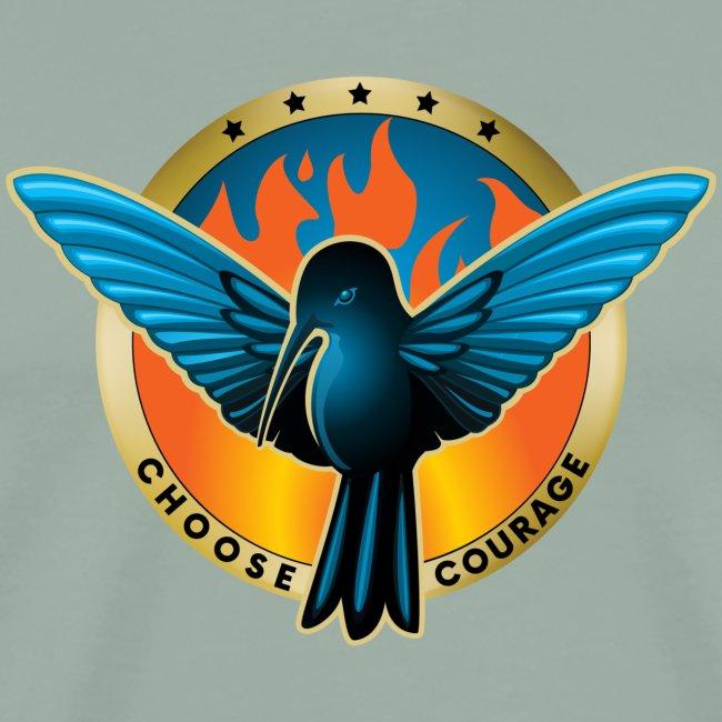 Choose Courage - Fireblue Rebels