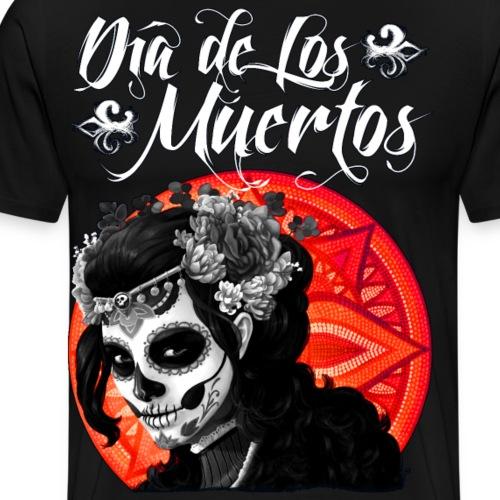 Dia de Los Muertos 01 - Men's Premium T-Shirt