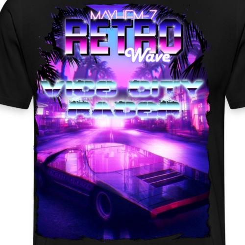 Retro Wave 1 - Men's Premium T-Shirt