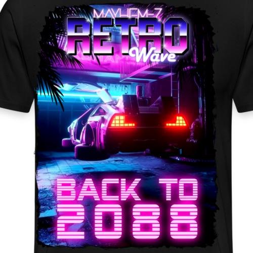Retro Wave 7 - Men's Premium T-Shirt