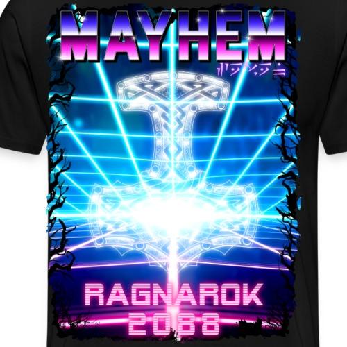 Retro Wave 8 - Men's Premium T-Shirt