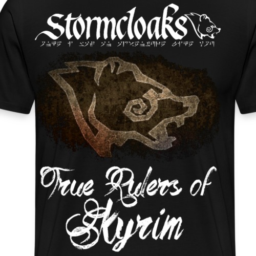 Stormcloaks 3 - Men's Premium T-Shirt
