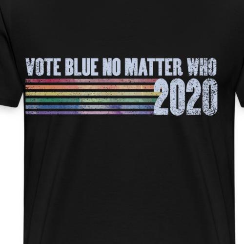 vote blue no matter who 2020 - Men's Premium T-Shirt