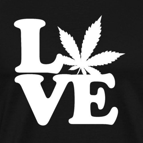 Love Weed - Men's Premium T-Shirt