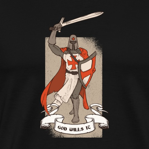 GodWillsItTshirt 01 - Men's Premium T-Shirt