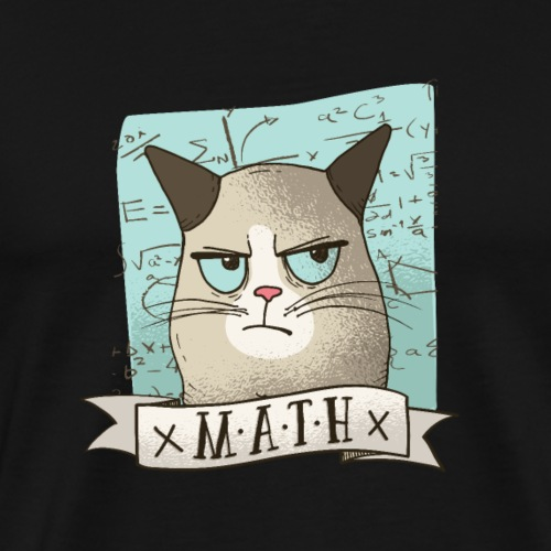 MathCat - Men's Premium T-Shirt