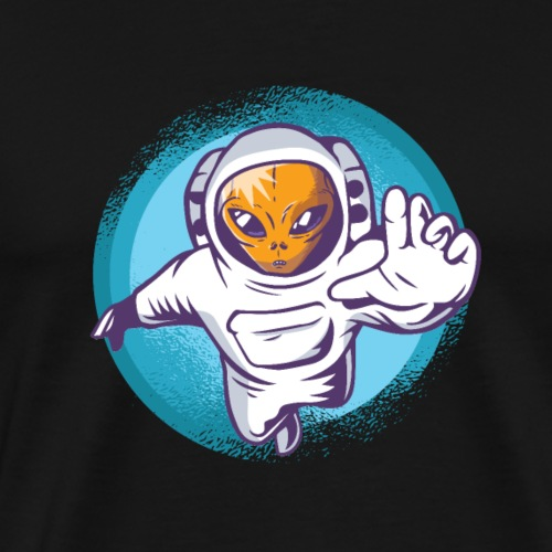 AlienAstronaut - Men's Premium T-Shirt