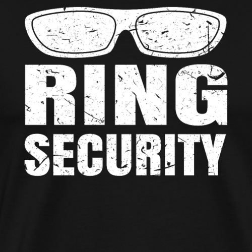 Ring Security funny boys wedding costume shirt gif - Men's Premium T-Shirt