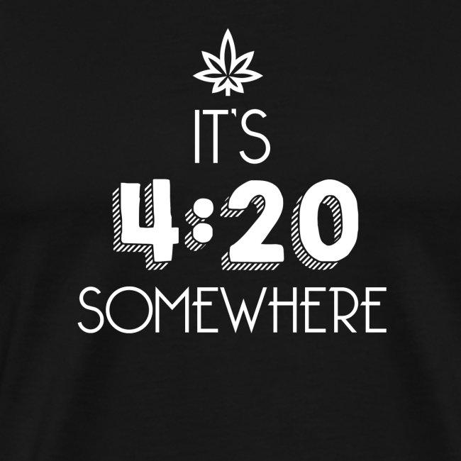 It's 4:20 Somewhere - Weed Smoker Design.