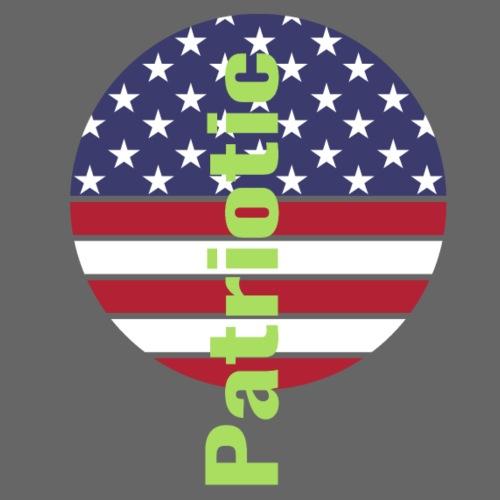 Amerincan patriotic flag - Men's Premium T-Shirt