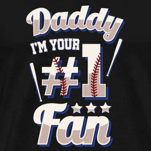 BaseballDadsFan - Men's Premium T-Shirt