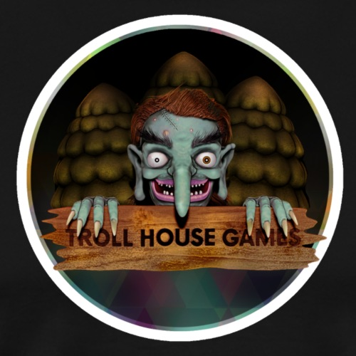 Troll House Games Logo - Men's Premium T-Shirt