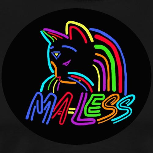 Ma-less Mola logo - Men's Premium T-Shirt