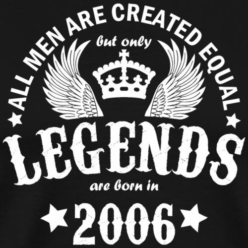 Legends are Born in 2006 - Men's Premium T-Shirt