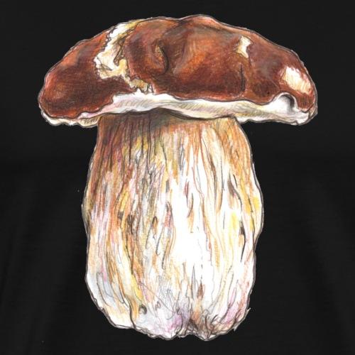 Boletus edulis / fungi / mushroom - Men's Premium T-Shirt