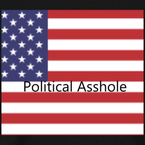 Political Asshole - Men's Premium T-Shirt