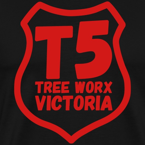 T5 tree worx shield - Men's Premium T-Shirt