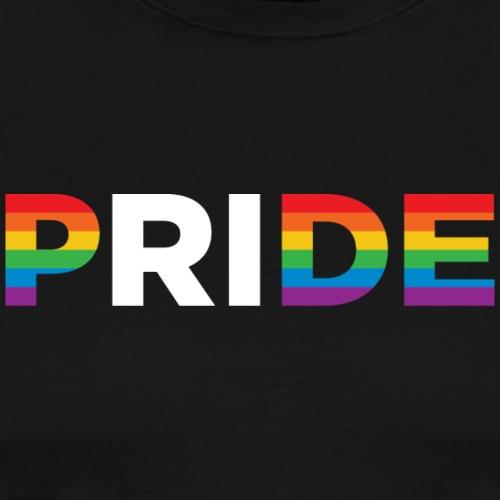 Rhode Island Pride (horizontal) - Men's Premium T-Shirt