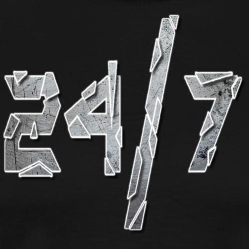 24/7 with ABG - Men's Premium T-Shirt