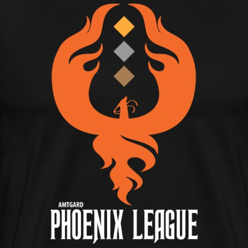 Phoenix League Logo - Men's Premium T-Shirt