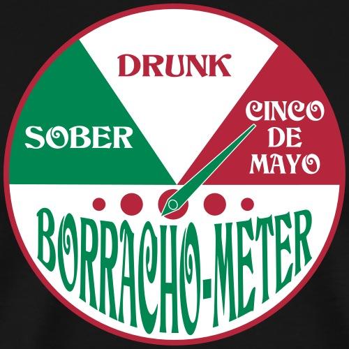 Cinco de Mayo Drunk Meter - Men's Premium T-Shirt